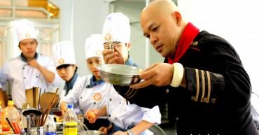 Học Viên và siêu đầu bếp Alain Nghĩa Bếp