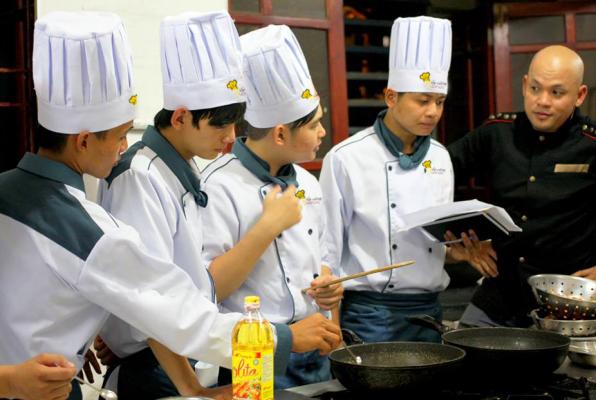 Học nấu ăn ở bình dương