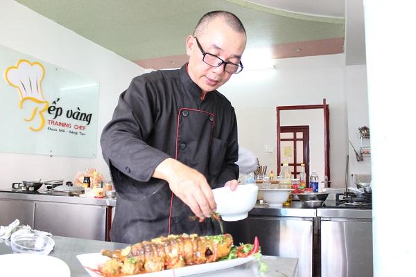 đầu bếp Trần Trung Vượng
