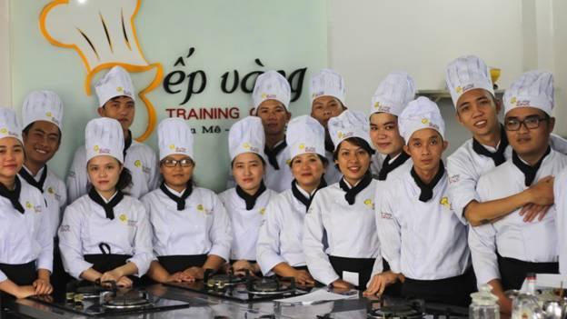 Hình ảnh học viên Đào Tạo Bếp Vàng