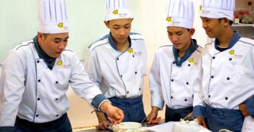 Học nghề bếp ở bình dương