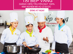 Học nấu ăn tại Bình Dương, Bình Phước, Đồng Nai