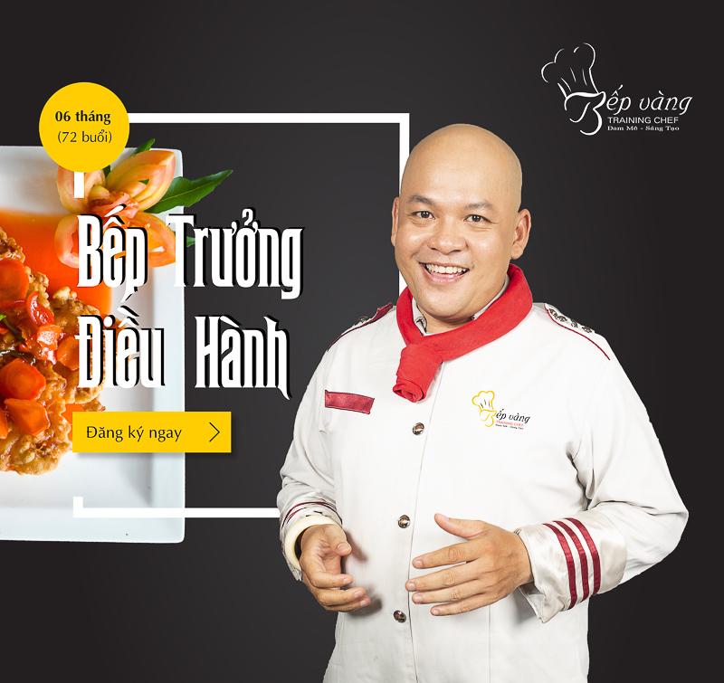 Trường dạy học nấu ăn Bếp Vàng
